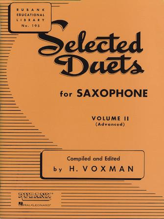 Selected-Duets-for-Saxophone-Volume-2-Advanced