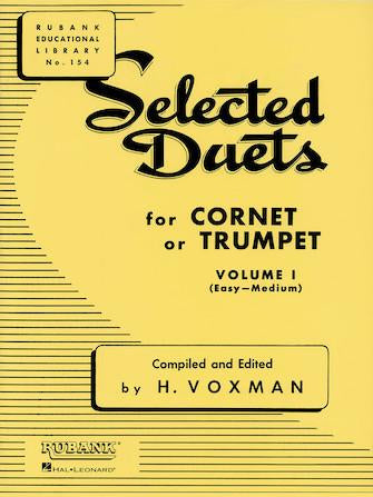 Selected-Duets-for-Cornet-or-Trumpet-Volume-1-Easy-to-Medium