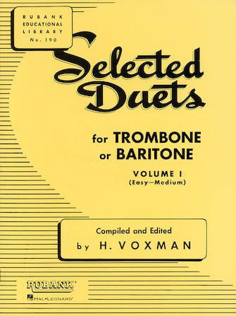 Selected-Duets-for-Trombone-or-Baritone-Volume-1-Easy-to-Medium