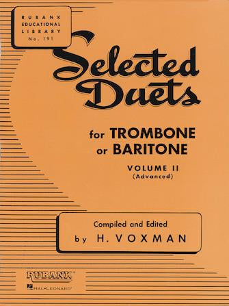 Selected-Duets-for-Trombone-or-Baritone-Volume-2-Medium-Advanced
