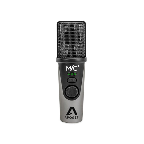 Apogee MiC+ USB Microphone for iPad, iPhone, Mac and PC