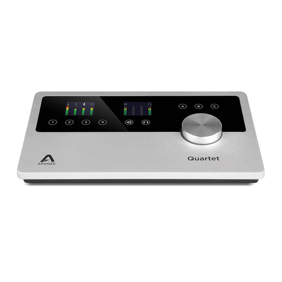 Apogee Quartet - 12 IN x 8 OUT USB Audio Interface for Mac and PC