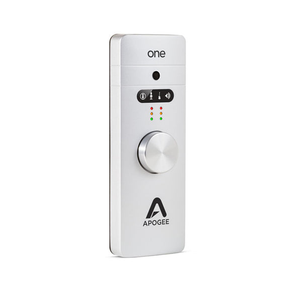Apogee ONE - 2 IN x 2 OUT USB Audio Interface/Microphone for Mac and PC