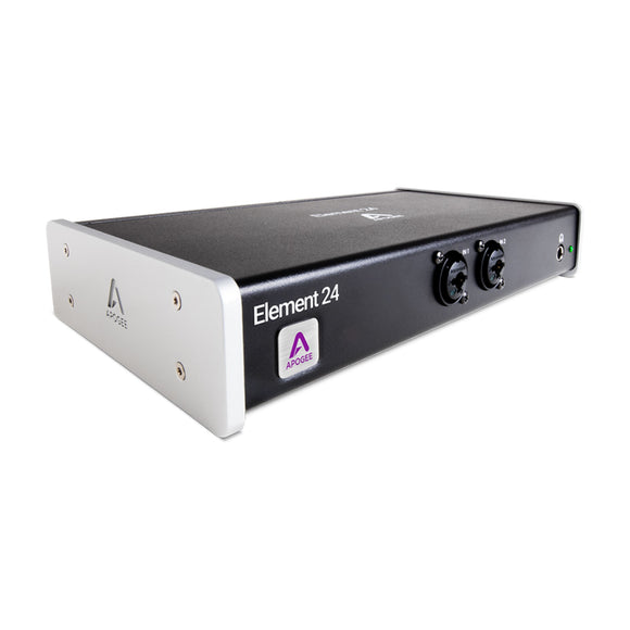 Apogee Element 24 - 10 IN x 12 OUT Thunderbolt Audio I/O Box for Mac