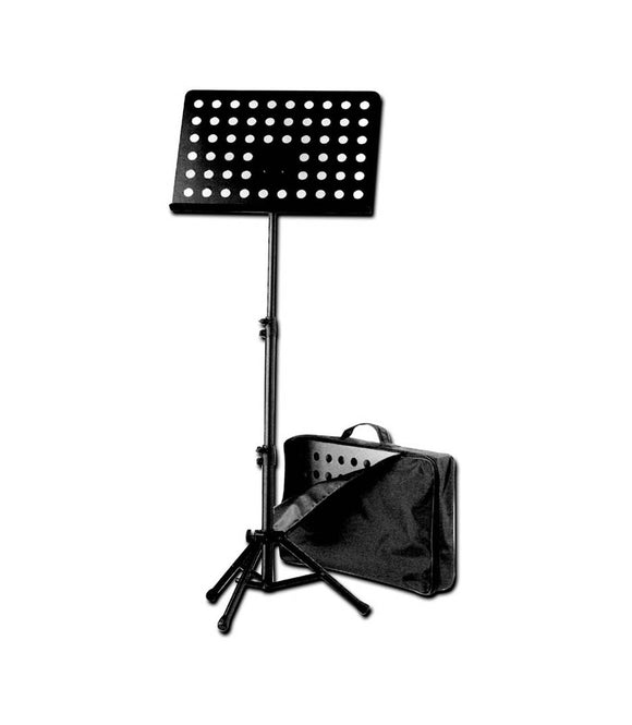K&M #37885 Orchestra Music Stand, Perforated Desk