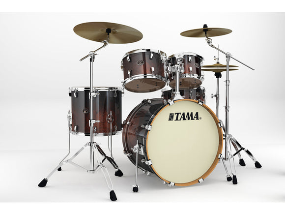 Acoustic Drum Set Bundle #1 - TAMA Silverstar Drum Set w/ Hardware, PAISTE Cymbal Set, TAMA Throne & ZILDJIAN Sticks
