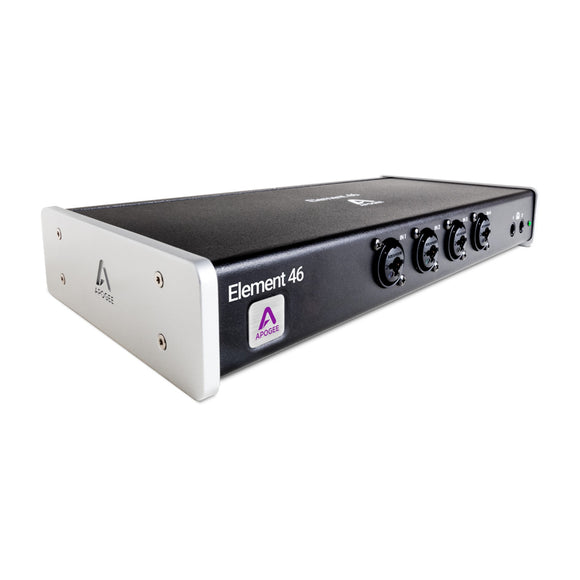 Apogee Element 46 - 12 IN x 14 OUT Thunderbolt Audio I/O Box for Mac