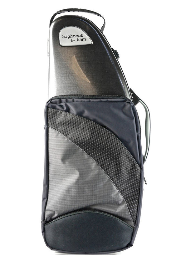 BAM Hightech Alto Saxophone Case with pocket (assorted colors)