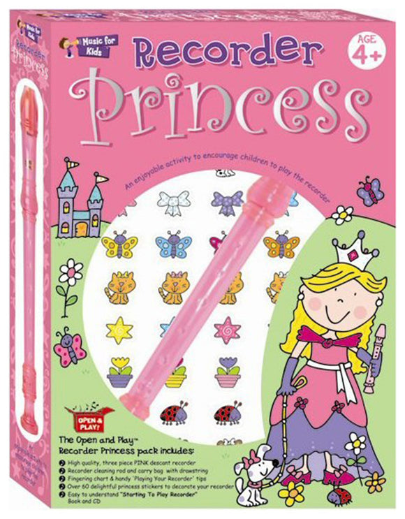 Music For Kids Princess Recorder Pack