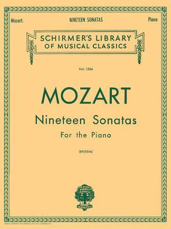 Mozart 19 Sonatas Complete For the Piano