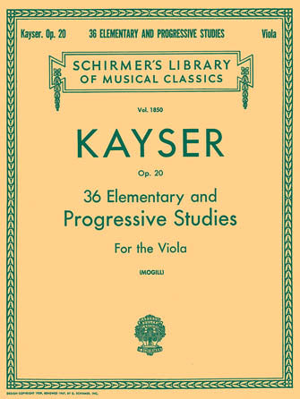 Kayser-36-Elementary-and-Progressive-Studies-For-the-Viola