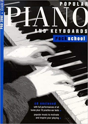 Rockschool Popular Piano and Keyboards Grade 8 (2001-2015) with CD