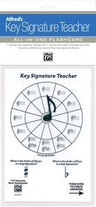 Alfreds-Key-Signature-Teacher-All-In-One-Flashcard-White