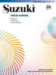Suzuki-Violin-School-Volume-2-Violin-PartCD-Asian-Edition-Revised