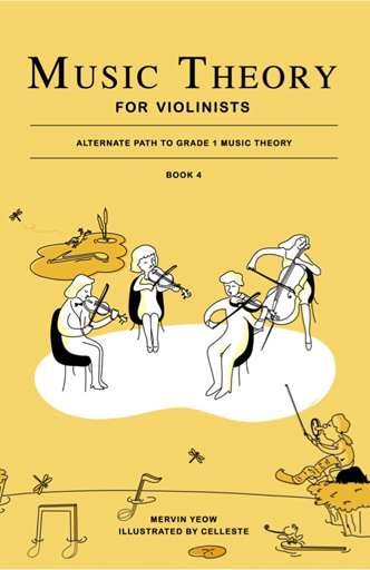Music Theory for Violinists Book 4