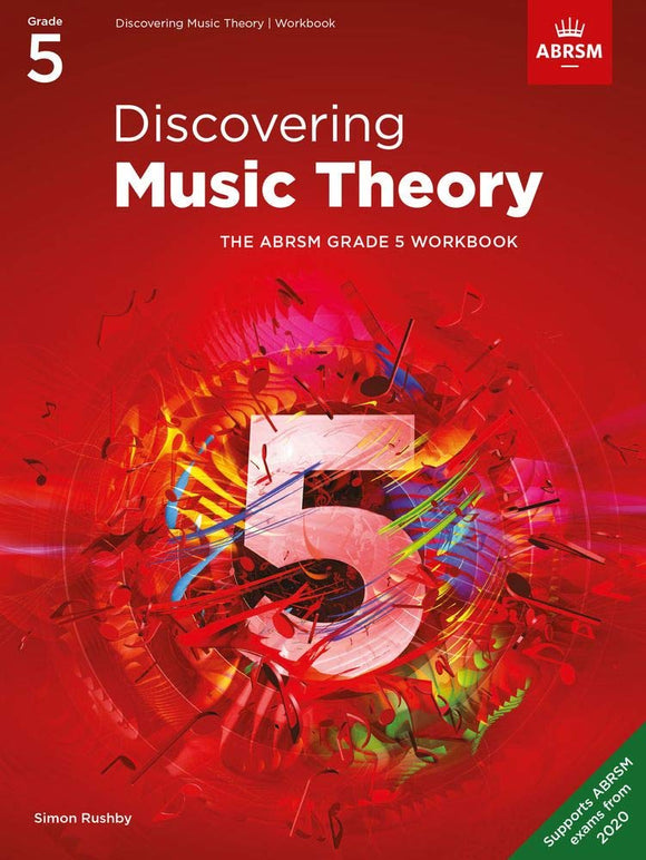 ABRSM Discovering Music Theory, Grade 5 Workbook