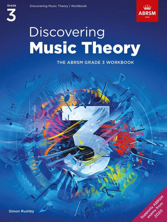 ABRSM Discovering Music Theory, Grade 3 Workbook