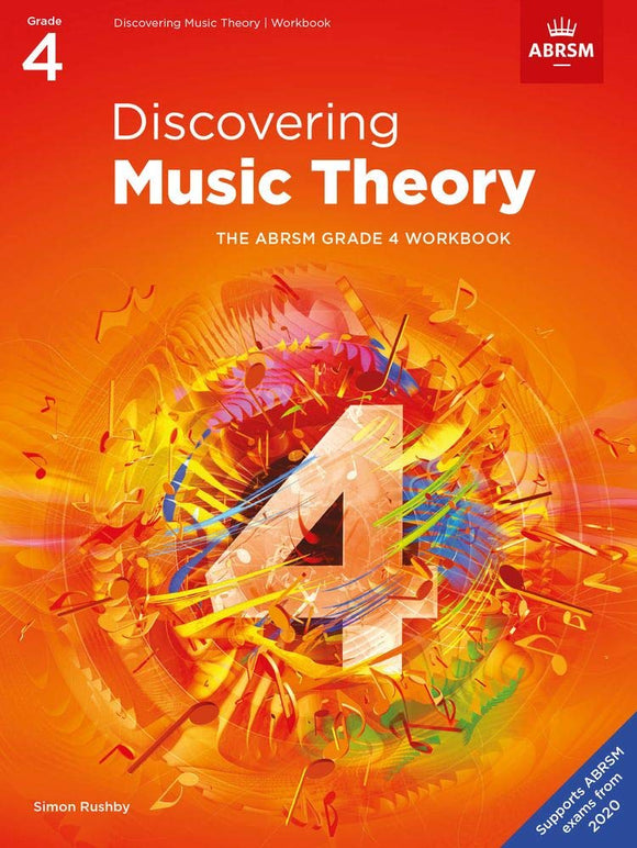 ABRSM Discovering Music Theory, Grade 4 Workbook