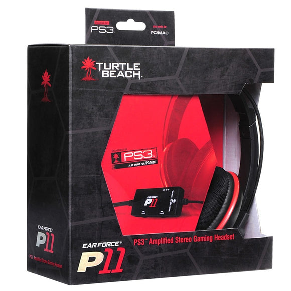 Turtle Beach Ear Force P11 Amplified Stereo Over-Ear Gaming Headset (PS3)