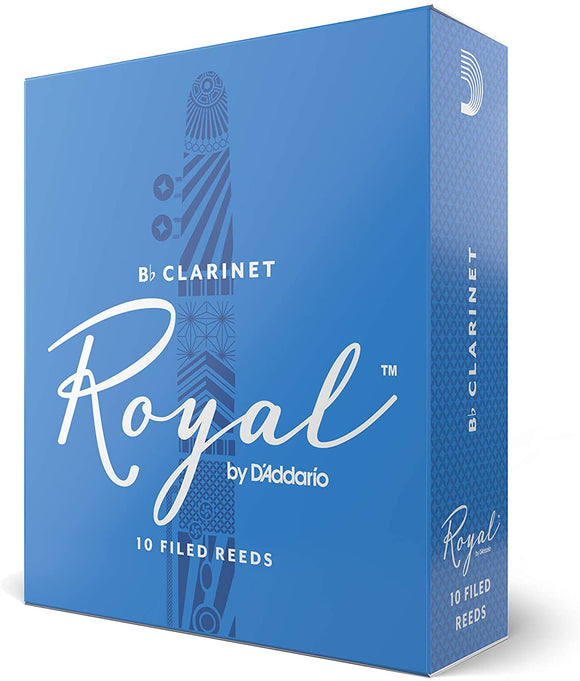 Royal by D'addario Bb Clarinet Reeds, 10pcs box (assorted strength)