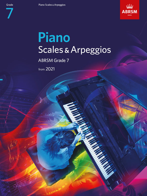 ABRSM Piano Scales & Arpeggios G7 (From 2021)