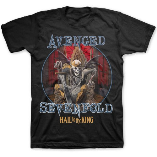 Avenged Sevenfold Unisex Tee: Deadly Rule L