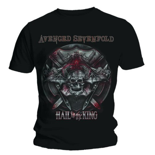 Avenged Sevenfold Unisex Tee: Battle Armour Small