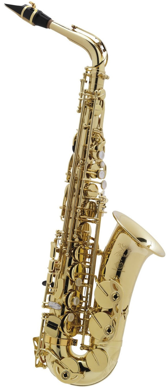 Selmer Paris Seles Axos Alto Saxophone, Clear Lacquered Outfit