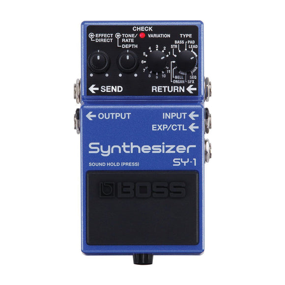 BOSS SY1 Guitar Synthesizer