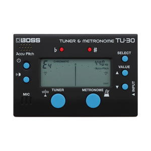 BOSS TU30 Chromatic Tuner & Metronome