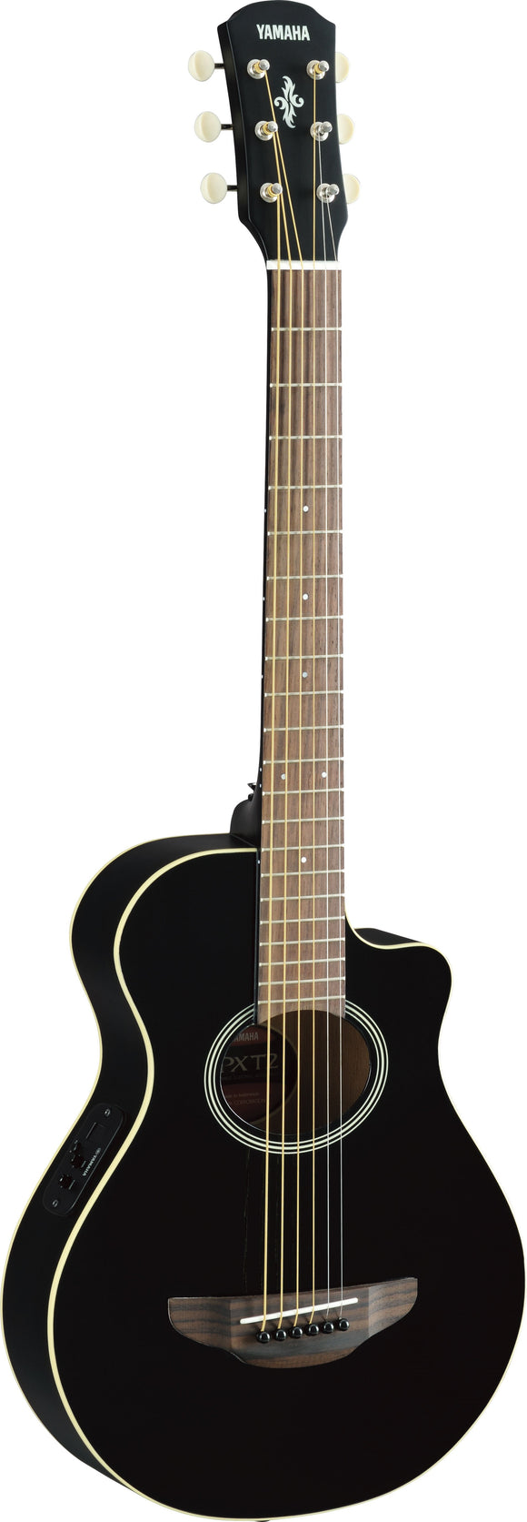 Yamaha APXT2 3/4 size acoustic-electric guitar (Black)