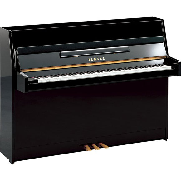 Yamaha JU109 Upright Piano Polished Ebony