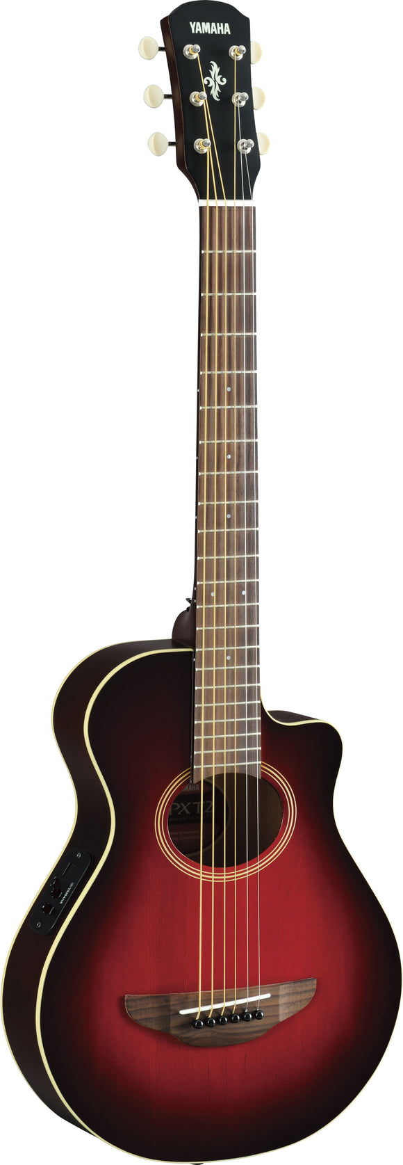 Yamaha APXT2 3/4 size acoustic-electric guitar (Dark Red Burst)