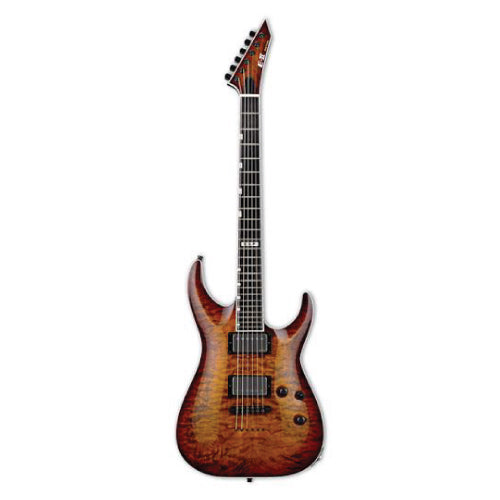 ESP E-II Horizon NT-II, Tiger Eye Sunburst TESB (display)