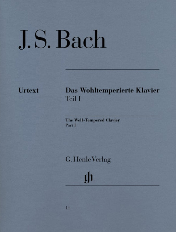 Bach The Well-Tempered Clavier Part I BWV 846-869