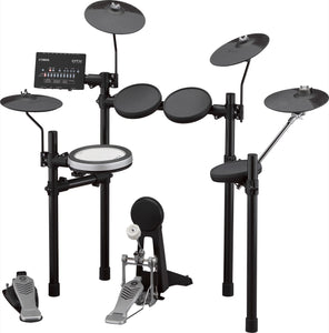 Electronic Drum Set Bundle #1 - YAMAHA DTX482K w/ YAMAHA Drum Stool, VIC FIRTH Stereo Headphone & ZILDJIAN Sticks