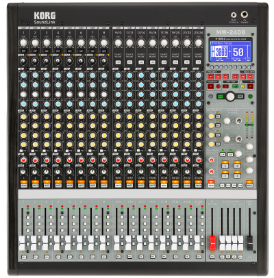 Korg MW2408  Hybrid Analog / Digital Mixer