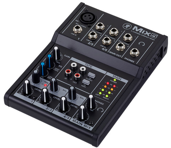 Mackie MIX5 5-CH Compact Mixer