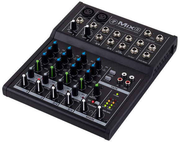 Mackie MIX8 8-CH Compact Mixer