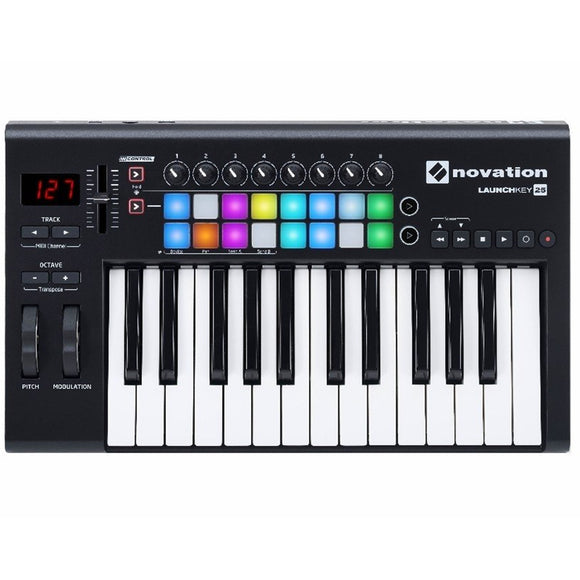 Novation Launchkey MK2 - MIDI Keyboard Controller (25-Keys)