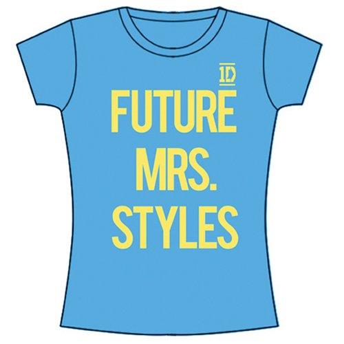 One Direction Ladies Tee: Future Mrs Styles (Skinny Fit) M