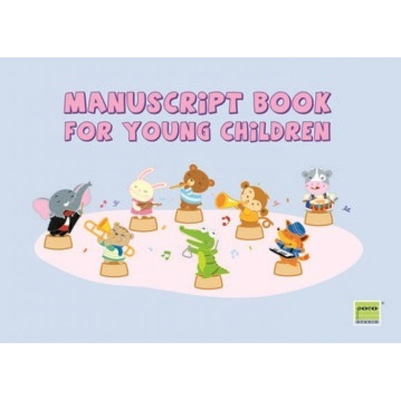 POCO Manuscript Book for Young Children (Orchestra)