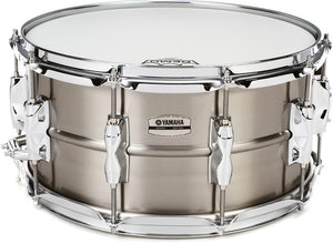 "YAMAHA 7""X14"" Recording Custom Stainless Steel Snare Drum"
