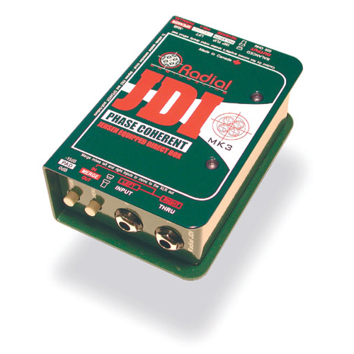Radial JDI/MK3 PASSIVE DIRECT BOX