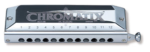 Suzuki Chromatix series, Deluxe Chromatic Harmonica, 12 holes