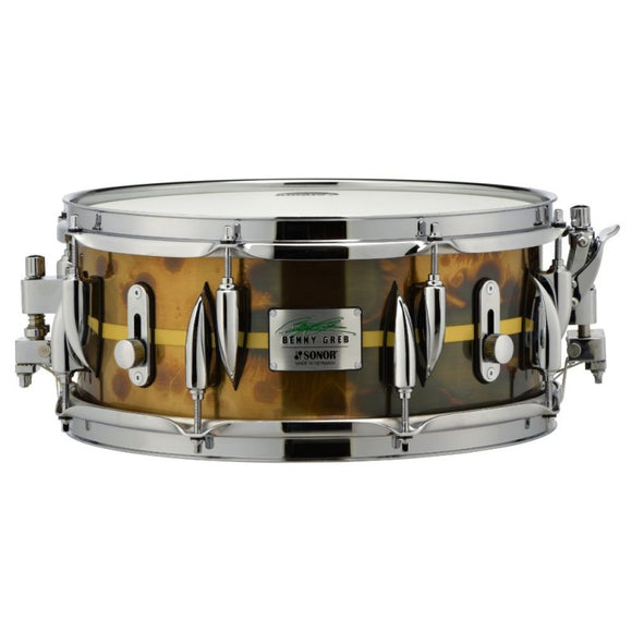 SONOR Benny Greb Signature Snare 2.0 - 13'x5.75' - Brass Shell