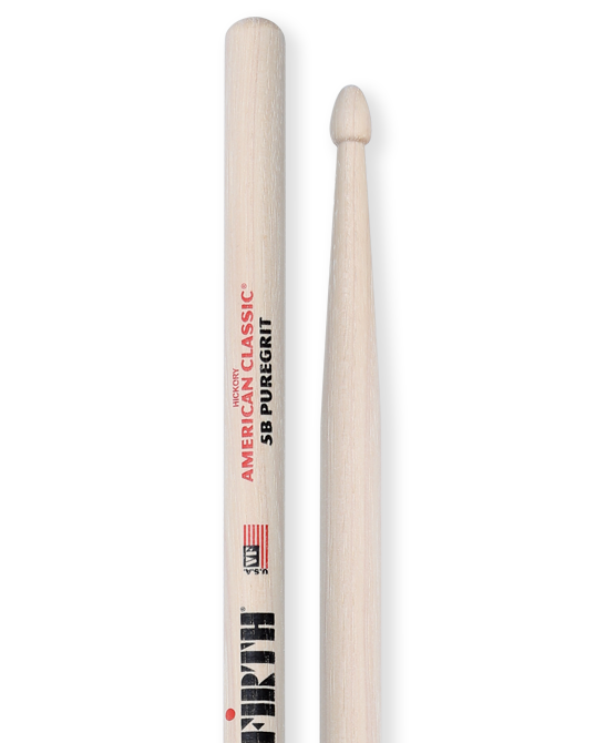 VIC FIRTH American Classic 5B Pure Grit Drumsticks