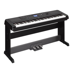Yamaha DGX-660 Digital Piano (with Music Rest and Pedal)