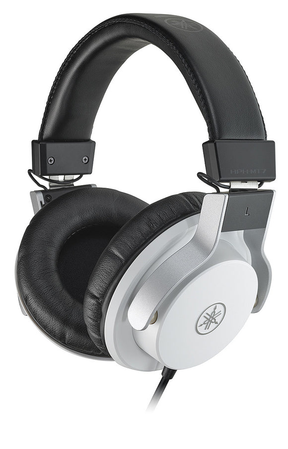 Yamaha HPHMT7W Studio Monitor Headphones (White)