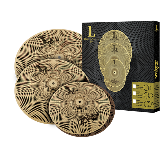 Zildjian LV468 Low Volume Cymbal Box Set